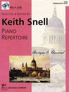 NAK PIANO LBR-PA REPERTOIRE : BAROQUE/CLASSICAL,PREP NAK PA LIB