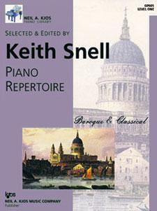 Piano Repertoire Baroque & Classical Level 1