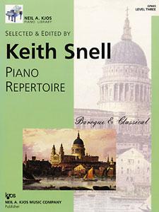 NAK PIANO LIB PA REPERTOIRE  BAROQUE/CLASSICAL LEVEL 3 NAK PA LIB