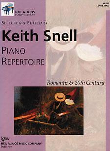 NAK PIANO LIB PA REPERTOIRE: ROMANTIC-20TH CEN LEVEL 1 NAK PA LIB