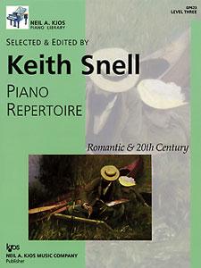 NAK PIANO LIB PA REPERTOIRE  ROMANTIC-20TH CEN LEVEL 3 NAK PA LIB