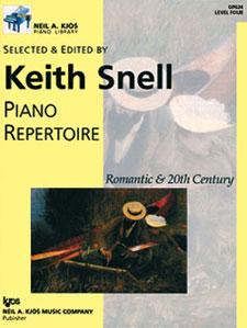 NAK PIANO LIB PA REPERTOIRE: ROMANTIC-20TH CEN LEVEL 4 NAK PA LIB