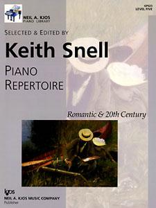 Piano Repertoire  Romantic & 20th Century 5
