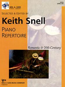NAK PIANO LIB PA REPERTOIRE  ROMANTIC-20TH CEN LEVEL 6 NAK PA LIB