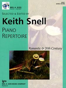 NAK PIANO LIB PA REPERTOIRE  ROMANTIC-20TH CEN LEVEL 7 NAK PA LIB