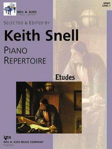 NAK PIANO LIBRARY-PIANO REPERTOIRE:ETUDES,LEVEL 1 NAK PA LIB