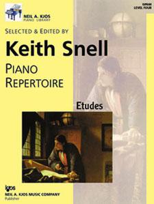 Piano Repertoire Etudes Level 4