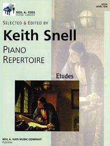Piano Repertoire Etudes Level 10