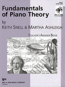 Fundamentals Of Piano Theory 1 Teacher