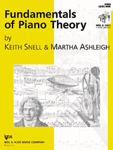 Fundamentals Of Piano Theory Level 9
