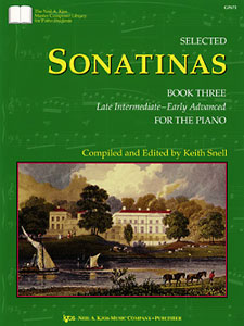 SELECTED SONATINAS, BOOK THREE MASTER CMP