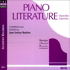 Piano Literature Vol 1 & 2 CDs