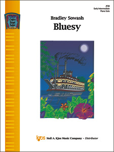 Kjos Sowash                 Bluesy - Piano Solo Sheet