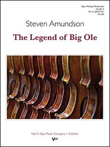 Kjos Amundson S   Legend of Big Ole - String Orchestra