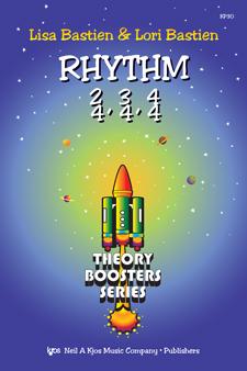 THEORY BOOSTERS: RHYTHM 2/4 3/4 4/4 BASTIEN SP
