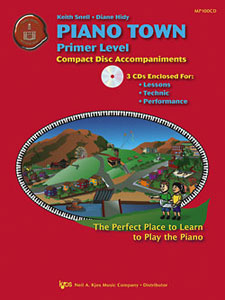 PIANO TOWN-CD ACCMP-PRIMER LEVEL-CD
