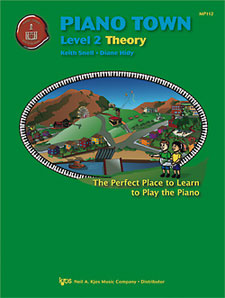 PIANO TOWN, THEORY-LEVEL 2