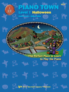 PIANO TOWN:HALLOWEEN-LEVEL 1