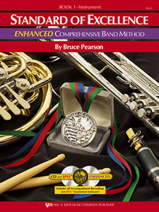 Standard of Excellence Enhanced Band Method Book 1 - Alto Saxophone