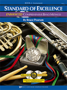 Standard of Excellence Enhanced Band Method, Bk. 2 - Baritone Sax