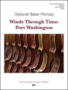 Kjos Monday D B   Winds Through Time Port Washington - String Orchestra