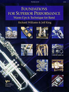 Foundations for Superior Performance Bari Sax PROGRAM-TE
