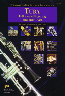 Foundations Superior Performance Fingering Chart Tuba