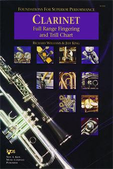 Foundations Superior Performance Fingering Chart Clarinet