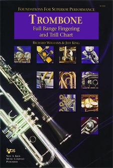 Foundations Superior Performance Fingering Chart Trombone