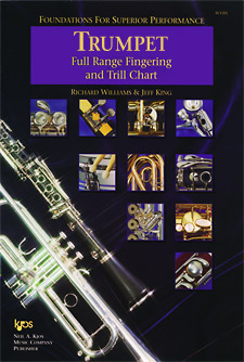 Foundations Superior Performance Fingering Chart Trumpet