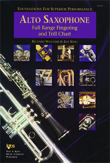FOUNDATIONS F/SUP PERF FINGERING & TRILL CHART-ALTO SAX PROGRAM-TE