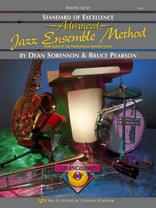 Standard of Excellence Advanced Jazz Ensemble Method Drums SOE JAZZ