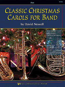 CLASSIC CHRISTMAS CAROLS FOR BAND-FLUTE PROGRAM-TE