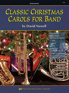 Classic Christmas Carols for Band - Drums / Timpani / Auxiliary Percussion