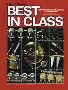 Best in Class - Baritone Treble Clef, Book 2
