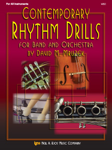 CONTEMPORARY RHYTHM DRILLS FOR BAND AND ORCHESTRA PROGRAM-TE