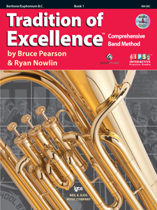 Tradition of Excellence Book 1 Baritone/Euphonium BC