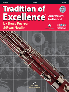 Tradition Of Excellence, Bk1, Bassoon