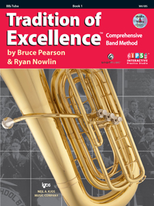 Tradition of Excellence TOE Book 1 - BBb Tuba