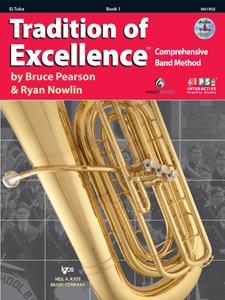 TRADITION OF EXCELLENCE BK 1 Eb TUBA TOE