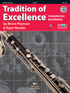 TRADITION OF EXCELLENCE BK 1, Bb BASS CLARINET TOE