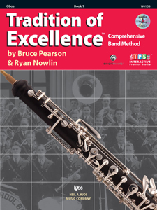 TRADITION OF EXCELLENCE BK 1 OBOE TOE