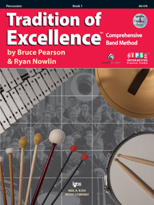 TRADITION OF EXCELLENCE BK 1, PERCUSSION TOE