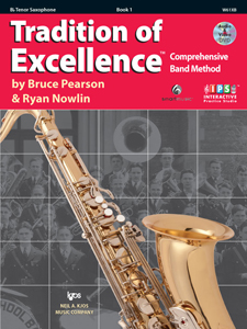 TRADITION OF EXCELLENCE BK 1 Bb TENOR SAX TOE