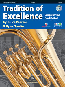 Tradition of Excellence Book 2 Baritone/Euphonium BC