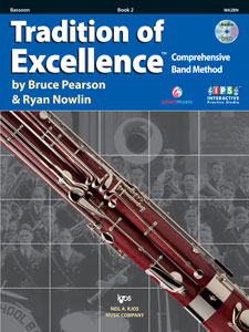Tradition of Excellence TOE - Bassoon Book 2