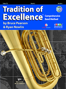 Tradition of Excellence Bk 2 Treble Clef Tuba TOE