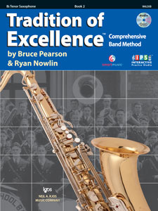Tradition of Excellence, Bk2, Tenor Saxophone