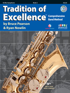 Tradition of Excellence TOE Book 2 - Eb Alto Saxophone