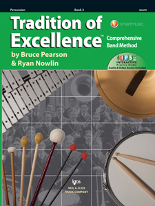 Tradition of Excellence Bk 3 Percussion